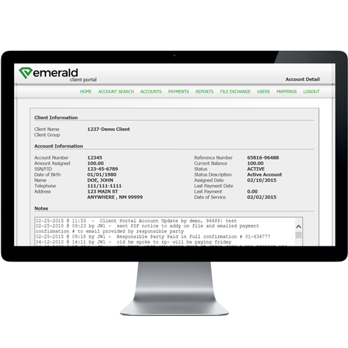 Client Portal with Real-time Access